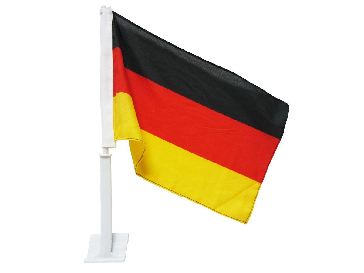 Autoflagge Autofahne Auto Flagge Fahne Fan  DEUTSCHLAND Nationalmann