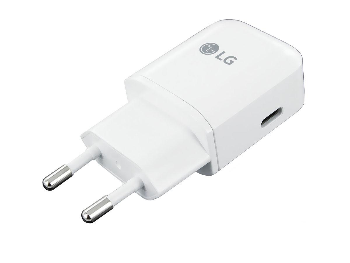 Original LG MCS-N04ER Schnell-Ladegerät 3A 3000mAh USB Typ-C ...